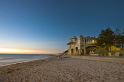 Perth's most popular beach - Cottesloe Beach