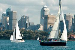 Sailing in Australia